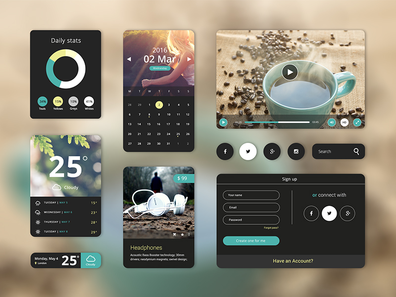 Creama Theme UI Starter Kit - created by Hila Yonatan